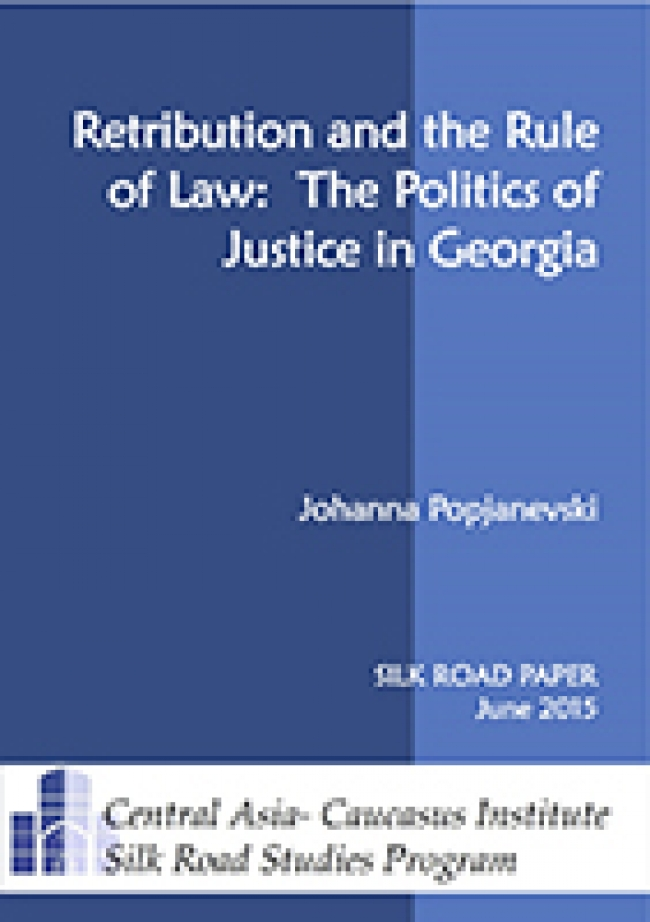 Retribution and the Rule of Law: The Politics of Justice in Georgia