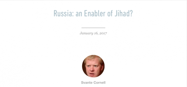 Russia: an Enabler of Jihad?