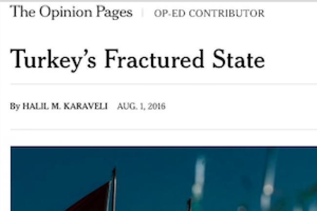 Turkey's Fractured State