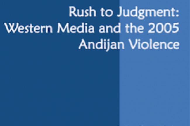 Rush to Judgment: Western Media and the 2005 Andijan Violence