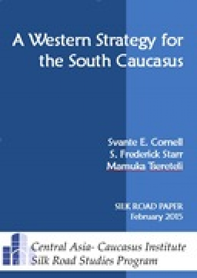 A Western Strategy for the South Caucasus